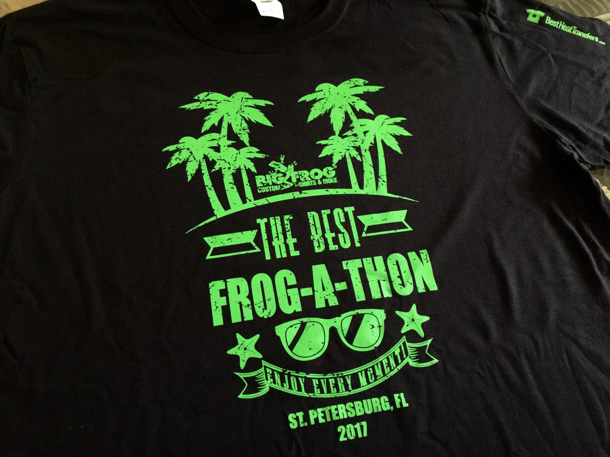 How to compete with screen printers using heat transfers for Customized heat transfers for t shirts