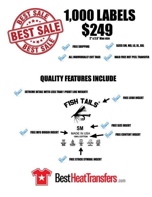 35dd16b97 Tagless Label Heat Transfers Lowest prices   Best Heat Transfers