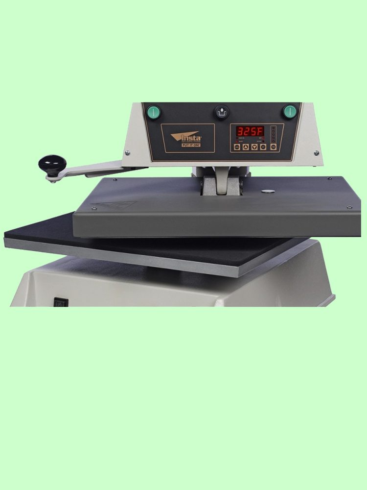 Automatic heat transfer machine for t shirts from best for Heat press decals for t shirts