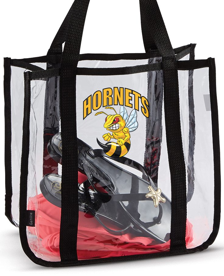 stadium tote bag heat transfers